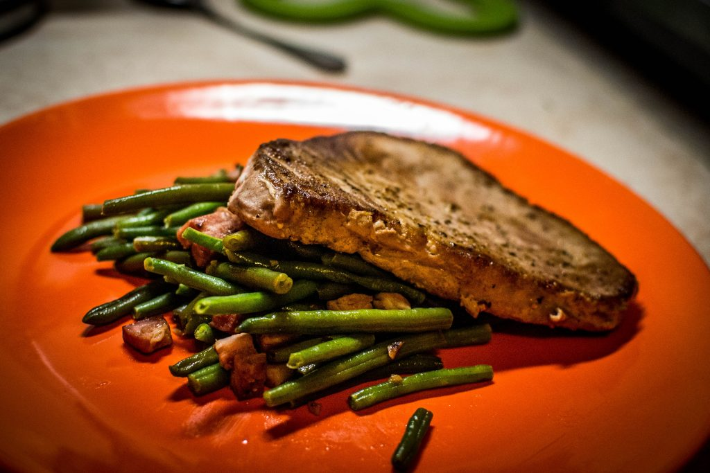 Tuna With Green Beans